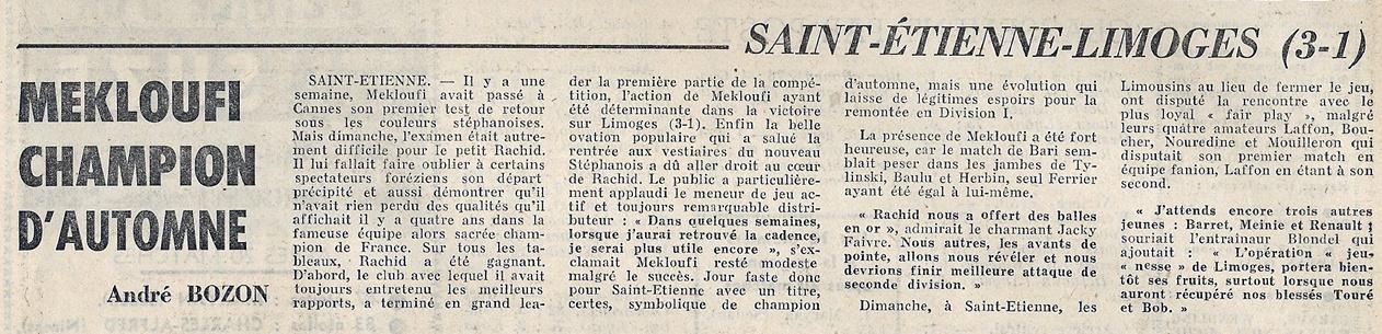 match as saint- u00c9tienne